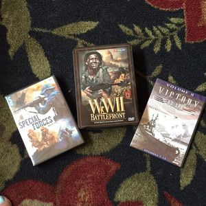DVDs Bundle of 3 WWII Special Forces Documentaries